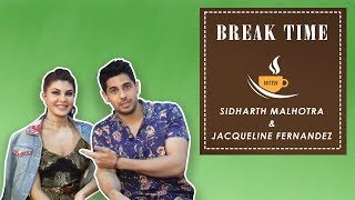 Break Time - Sidharth Malhotra Reveals His Smoothest Pick Up Lines