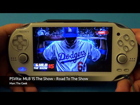 PSVita: MLB 15 The Show - Road To The Show