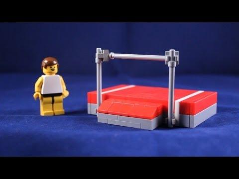 Custom LEGO Creation: High Jump Bar and Pad