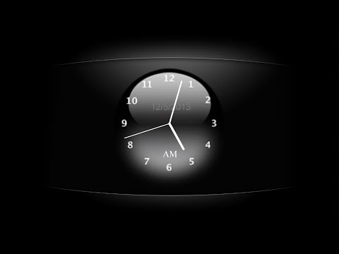 ClocX: Analog Alarm Clock For Windows Desktop