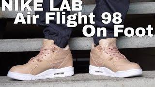 2e3f0a3c0831 NIke Lab Air Flight 89 Tan Vachetta (On Foot)
