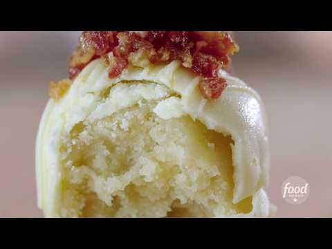 Maple Bacon Cake Balls | The Baker Sisters