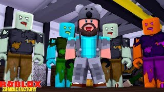 INFECTION INC ZOMBIE FACTORY!!   ROBLOX