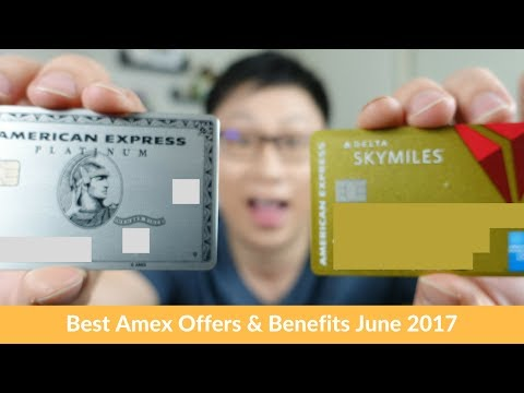 Best Travel Amex Offers & Benefits for June 2017 (Targeted)