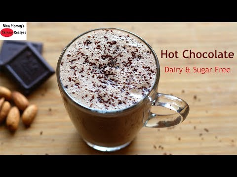 Hot Chocolate Recipe - Dairy Free | Sugar Free - How To Make The Best Homemade Hot Chocolate