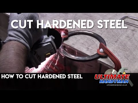 How to cut hardened steel