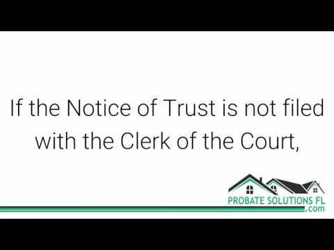 Florida Probate Process | Revocable Living Trust