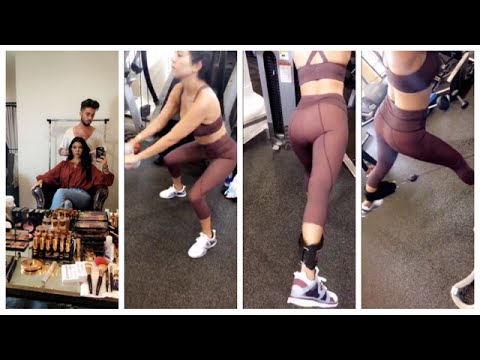 KOURTNEY KARDASHIAN | WORKOUT ROUTINE | SNAPCHAT STORIES 08-08-2016