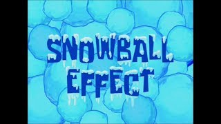 SpongeBob SquarePants: SnowBall Effect (Title Card)