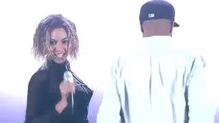 Beyoncé emocionada com Blue