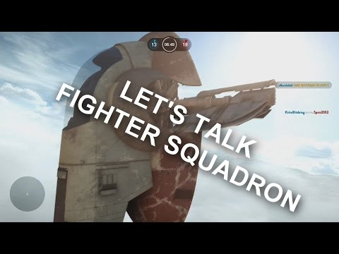 My Thoughts with Fighter Squadron in Star Wars Battlefront (PS4 Gameplay)