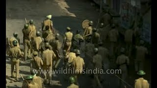 Babri Masjid, Ayodhya - archival footage of 6 December 1992