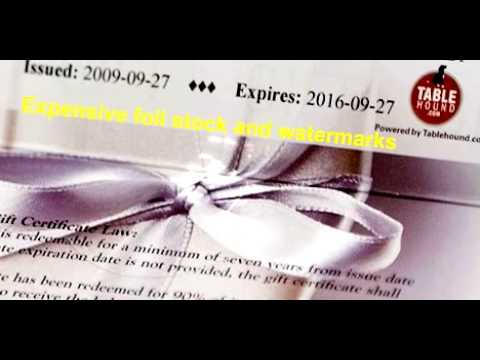 How do merchants sell gift certificates online?