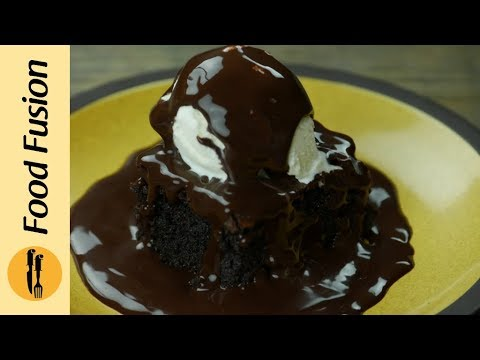 Fudgy Brownie Recipe very simple very easy  - Food Fusion