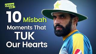 10 Misbah moments that took our hearts - Misbah ul Haq tribute