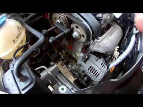 Výměna rozvodů-návod na Škoda Roomster, Fabia II 1.4 16V 63 kw