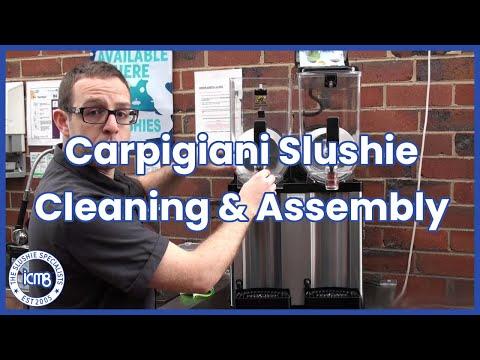 icm8 - Carpigiani Slushie Machine - How to dismantle and re-assemble