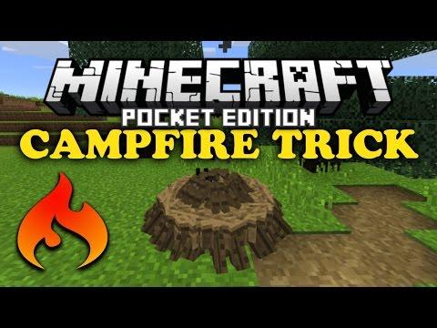 ✔ Campfire Trick V2 - Minecraft PE