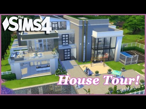 The Sims 4 - Movie Star Dream Mansion! (House Tour)