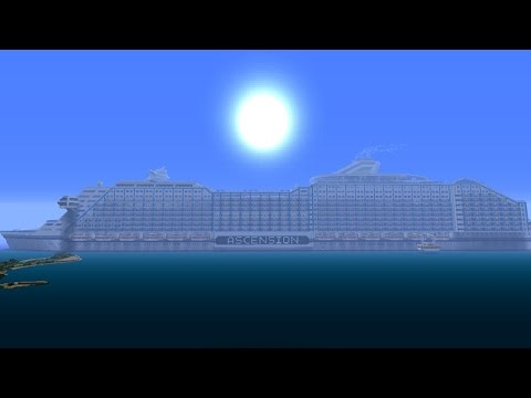 Minecraft Xbox - AMAZING CRUISE SHIP