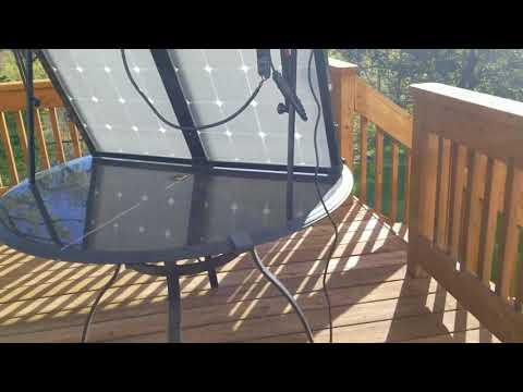 Solar-charging the Goal Zero Yeti 3000