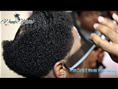 How to make your 360 waves WIDER: From CURL to WAVES (Wash Method)
