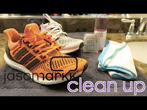 How I Clean My Shoes Using Jason Markk