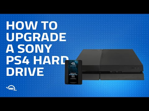 How to Upgrade a Sony PS4 Hard Drive
