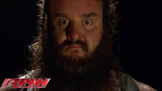 Bray Wyatt introduces Braun Strowman to the world: Raw, Aug. 24, 2015