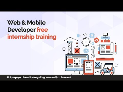 WEB & Mobile developer free internship training  -  iTeLearn