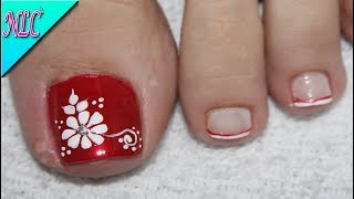 Rosas Flowers Nail Flor Piez Unas Www Increiblefotos Com