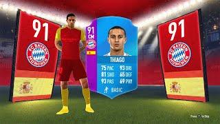 91 RATED THIAGO SBC! - BUNDESLIGA SBC FIFA 18 Ultimate Team
