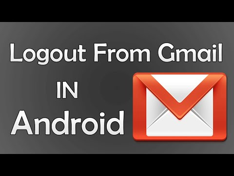 How To Logout Of Gmail On Android - Urdu / Hindi