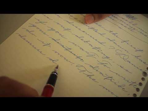Palmer Method Practice, Left handed