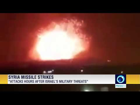 Missiles Target Syrian Military Bases In Hama, Aleppo