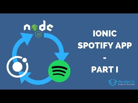 Building an Ionic Spotify App - Part 1: OAuth