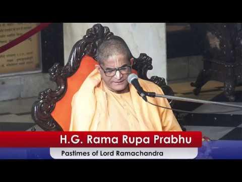 Pastimes of Lord Ramachandra by H G Ramrupa Prabhu at ISKCON Juhu on 19th Mar 2018