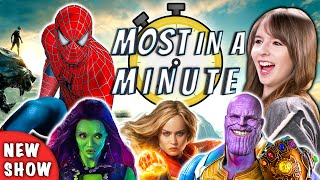 Download Who Can Name The Most Marvel Movies In A Minute? | Most In A Minute (REACT) Video