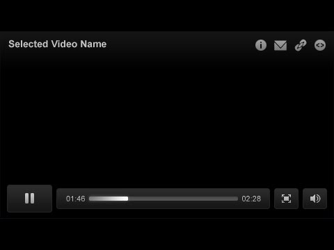 Flash video player using AS3.0 and XML Part 1/4 - Flash Tutorials