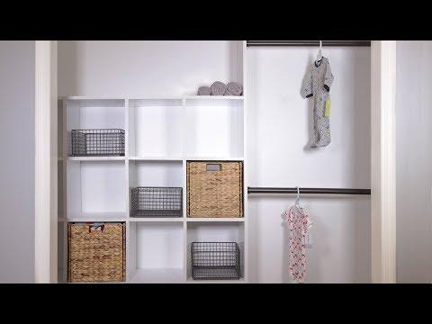 Build a Built-In Closet Organizer (Woodworking DIY)