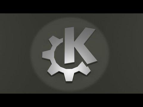 KDE Paper Logo with Blender and Pepakura - timelapse