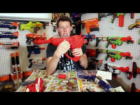22. REAL LIFE RAY GUN FOR NERF ZOMBIES!