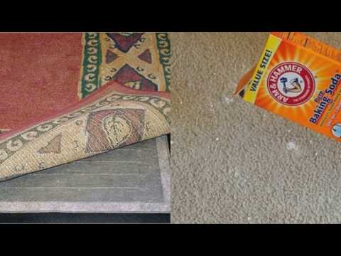 This is What Happens if You Put Baking Soda Under Your Carpet