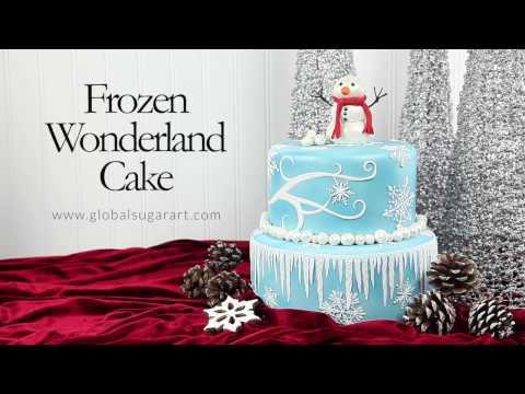 FROZEN WONDERLAND CAKE -