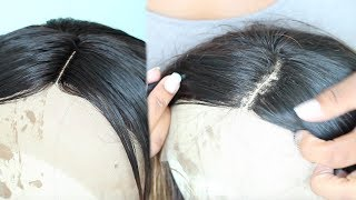 How To Fix Dense Part On Lace Front Wig - WowAfrican Fall Ombre Bob