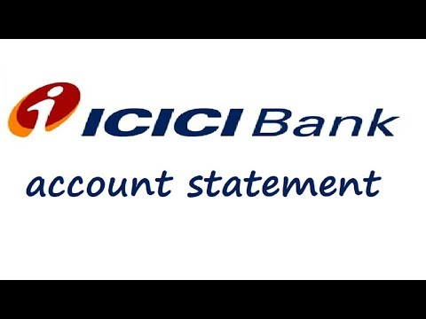 How to download bank statement in ICICI bank online(hindi)