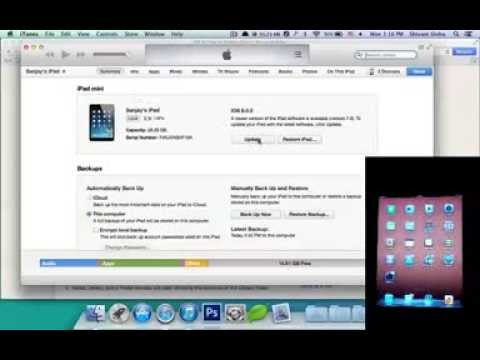 How to update to iOS 7 on iPhone 5 / 4S / 4, iPad 4 / 3 / 2 / Mini and iPod Touch 5