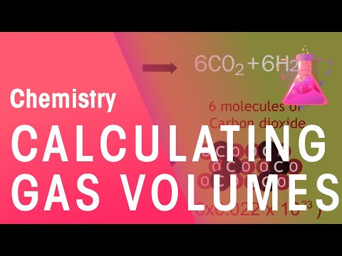 How To Calculate Gas Volumes | Chemistry for All | FuseSchool