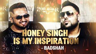Badshah Talking About Yo Yo Honey Singh   Says 'Honey Singh is My Inspiration'   Unseen Interview