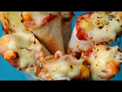PIZZA CONES - पिज़्ज़ा कोन्स recipe by Chef Sanjyot Keer